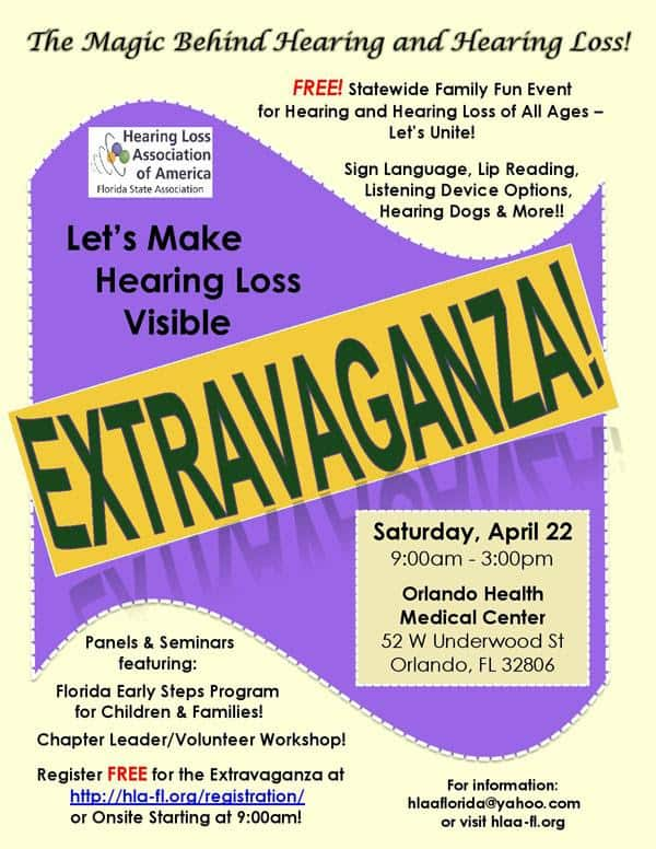 HLAA Let's Make Hearing Loss Visible EXTRAVAGANZA!